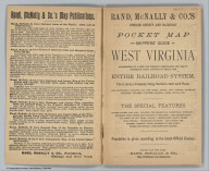 Title page: Pocket Map And Shippers' Guide Of West Virginia
