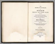 Title Page: Travellers Guide Through the United States
