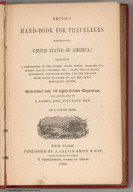 Title Page: Smith's Hand-Book For Travelers Through The United States Of America