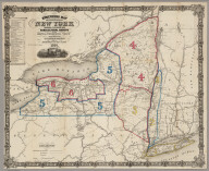 Engineers Map Of The State Of New York