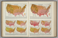 (Monthly Temperature Maps:) May. June. Atlas of American Agriculture. FJM.