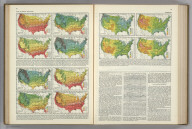 (Temperature Thresholds by Date. Range of Temperatures). Atlas of American Agriculture. A. Hoen & Co Baltimore.