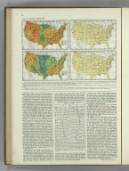 Average Velocity of Wind ... Prevailing Direction of Surface Winds... Atlas of American Agriculture. A. Hoen & Co Baltimore.