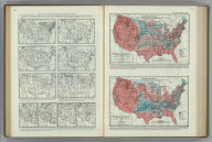 Weather Maps Showing Conditions Favorable for Frost. Number of Times in 20 Years 1895-1914 the Last Killing Frost in Spring was 10 Days or more later than the Average Date. Atlas of American Agriculture. FJM.