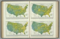 Relative Frequency of Precipitation for (May, June, July, August) Less than Half the Average. Atlas of American Agriculture. FJM.