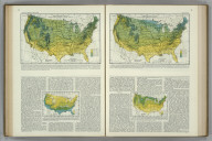 Average Annual Snowfall in Inches, Unmelted. Average Annual Number of Days with Snow Cover. Atlas of American Agriculture. FJM.