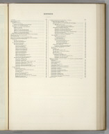 (Table of Contents) Contents. (Soils). Atlas of American Agriculture.