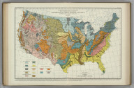 Distribution of Parent Materials of Soils. Soils, Plate 4. A. Hoen & Co. Atlas of American Agriculture.