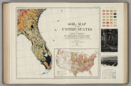 Soil Map of the United States by Curtis F. Marbut and Associates in the Soil Survery, U.S. Department of Agriculture, F.J. Marschner, Cartographer and Associate in Compilation. 1931. Soils, Plate 5, Section 9. Lith. A. Hoen & Co., Inc. Atlas of American Agriculture.