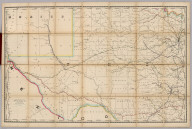 Rand, McNally & Co.'s New Shippers' Railroad Map of the United States. Scale: 8 miles to one inch. Showing all railroads, each in a separate color, and all railroad stations in large, plain type. This is the El Paso section only, of the above named map. (Below the neatline) Rand, McNally & Co.'s Shippers' Railway Map of the United States, Copyright, 1891 by Rand, McNally & Co.