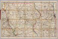 Rand, McNally & Co.'s New Shippers' Railroad Map of the United States. Scale: 8 miles to one inch. Showing all railroads, each in a separate color, and all railroad stations in large, plain type. (Below the neatline) Rand, McNally & Co.'s New Shippers' Railroad Map of the United States, Copyright, 1888 by Rand, McNally & Co. Copyright, 1891 by Rand, McNally & Co.