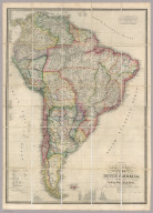 Columbia Prima or South America Drawn from the Large Map in Eight Sheets By Louis Stanislas D'Arcy Delarochette. London: Published by Jas. Wyld, Geographer to Her Majesty, 11 & 12 Charing Cross S.W.