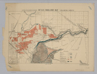 California State Engineering Department. Detail Irrigation Map. Anaheim Sheet. Wm. Ham. Hall, State Engineer. Irrigation Data 1888. Scale 1 1/2 Inches to One Mile. George Sandow, Draughtsman.