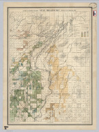 California State Engineering Department. Detail Irrigation Map. Centerville and Kingsburgh Sheet. Wm. Ham. Hall, State Engineer. Irrigation Data 1885.