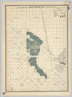 California State Engineering Department. Detail Irrigation Map. Delano and Poso Sheet. Wm. Ham. Hall, State Engineer. Irrigation Data 1885.