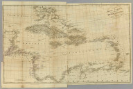 Map of the West Indies for the History of the British Colonies