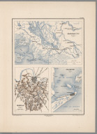 Planche XVIII. Brashear City (Louisiane). Nashville (Tennessee). Galveston (Texas).