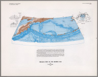 Oblique Map of the Bering Sea.