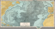 Physiographic Diagram, Atlantic Ocean (Sheet 1).