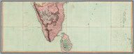 Lower Sheet: Map of India.