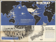 Major Bases Proposed for Postwar U.S. Navy. Japan.