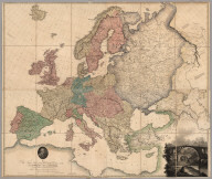 Composite: Map of Europe.