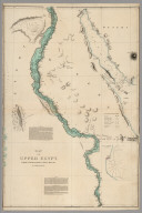 Map of Upper Egypt, drawn from various documents.