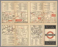 Text Page: Underground : Map of the electric railways of London