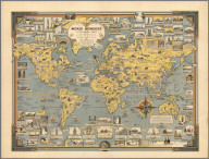 World Wonders, A Pictorial Map.