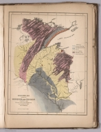 Geological map of parts of Minnesota and Wisconsin