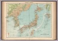 Plate 3. Japan and Korea. Extension to Formosa and Lu-Chu Islands.