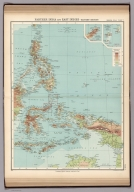 Plate 7. Farther India and East Indies - Eastern Section.