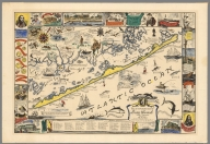 Map of the romantic Island of Long Beach, New Jersey