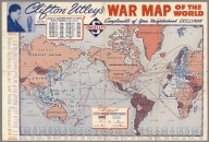Clifton Utley's war map of the world