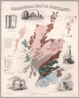 Geological map of Scotland