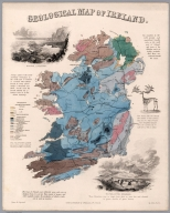 Geological map of Ireland