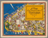 Covers: A map of the wondrous isle of Manhattan.