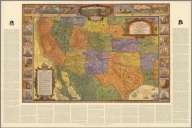 A map of exploration in the Spanish Southwest, 1528-1793