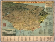 Peter's San Francisco Locator. The Birds-Eye-View Map of the Exposition City.