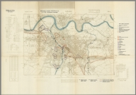 Street Map of Carlisle, England with Military-Geographic Features. BB 2a.