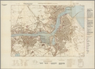 Street Map of South Shields, England with Military-Geographic Features. BB 3.