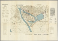 Street Map of Barrow in Furness, England with Military-Geographic Features. BB 8b.