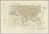 Street Map of Preston, England with Military-Geographic Features. BB 8d.