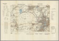 Street Map of Accrington, England with Military-Geographic Features. BB 9e.