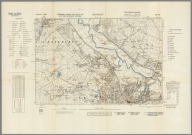 Street Map of Keighley, England with Military-Geographic Features. BB 9ae.