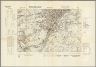 Street Map of Keighley, England with Military-Geographic Features. BB 9af.