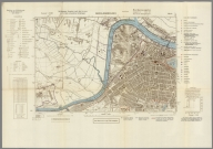 Street Map of Middlesbrough, England with Military-Geographic Features. BB 6b.