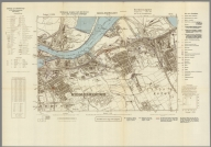 Street Map of Middlesbrough, England with Military-Geographic Features. BB 6c.
