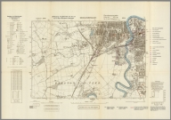 Street Map of Middlesbrough, England with Military-Geographic Features. BB 6d.