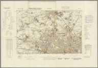 Street Map of Oldham, England with Military-Geographic Features. BB 12a.